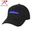 Rothco Thin Blue Line Low Profile Cap - Red Diamond Uniform & Police Supply