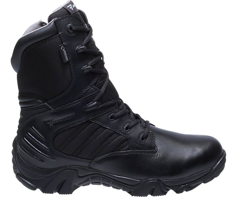 Bates Women's GX-8 Insulated Side Zip W/GOR-TEX Boot - red-diamond-uniform-police-supply