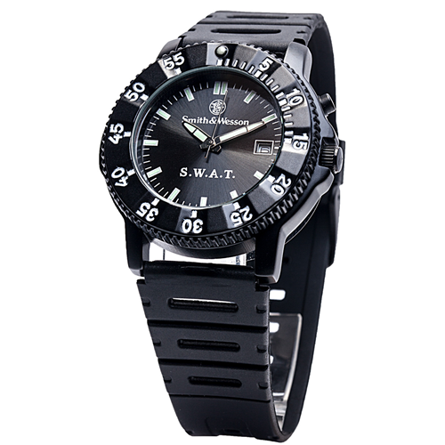 Smith & Wesson SWAT Watch - Back Glow