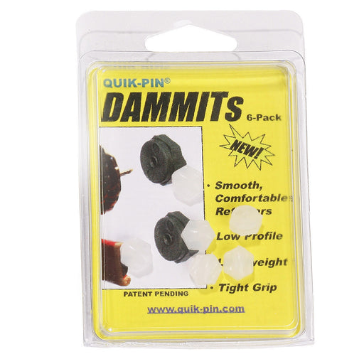 Quik-Pin DAMMITs (6 Pack) - Red Diamond Uniform & Police Supply
