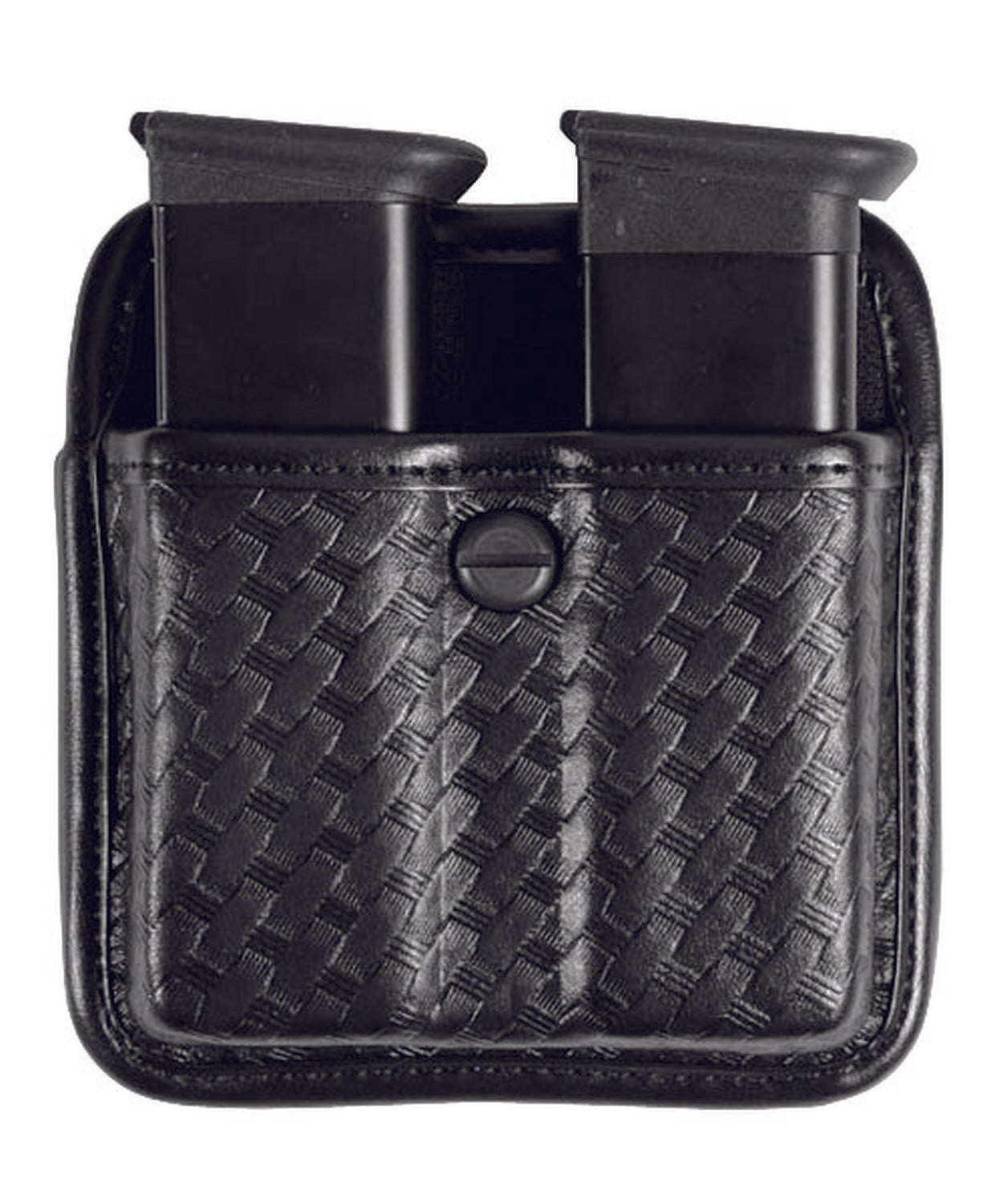 BIANCHI Model 7922 Triple Threat™ II Double Magazine Pouch - red-diamond-uniform-police-supply