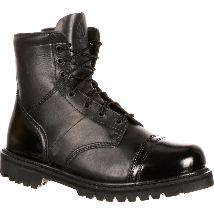 "ROCKY 7"" SIDE ZIPPER JUMP BOOT - Red Diamond Uniform & Police Supply"