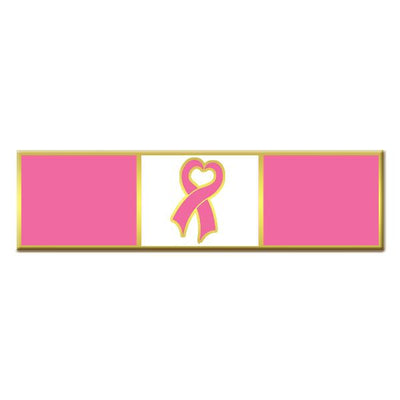 Blackinton Breast Cancer Awareness Commendation Bar - red-diamond-uniform-police-supply