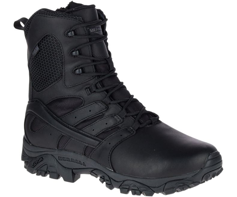 "Merrell Moab 2 8"" Tactical Response Waterproof Boot - Mens - red-diamond-uniform-police-supply"