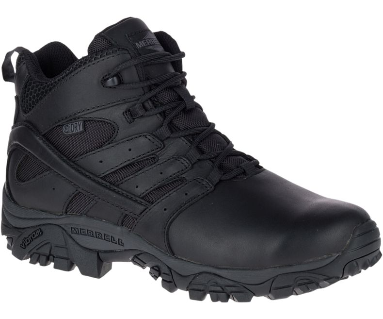 Merrell Moab 2 Mid Tactical Response Waterproof Boot  - Mens