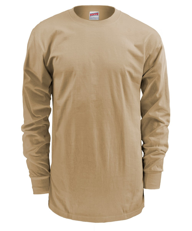 Soffe 50/50 Cotton Poly L/S T-Shirt MADE IN THE USA