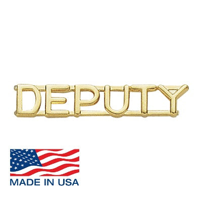 "ELC Deputy Collar Brass 1/4"" - Red Diamond Uniform & Police Supply"