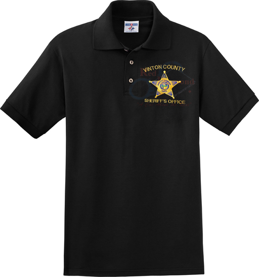 Red Diamond Custom Embroidery Sheriff Polo - Red Diamond Uniform & Police Supply