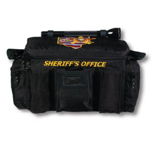Premier Emblem Equipment Bag with Ohio Buckeye Sheriff Association emblem - red-diamond-uniform-police-supply