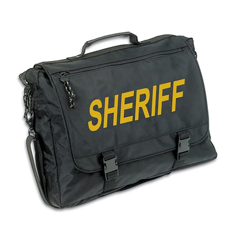 Premier Emblem Nylon Briefcase with Internal Holster - Sheriff - red-diamond-uniform-police-supply