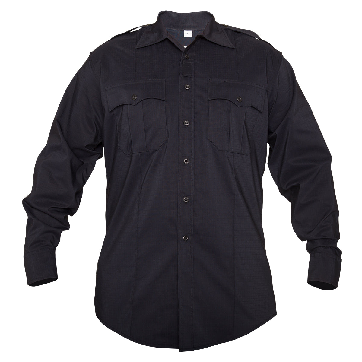 Elbeco Reflex Ripstop L/S Shirts With Zipper - Mens - red-diamond-uniform-police-supply