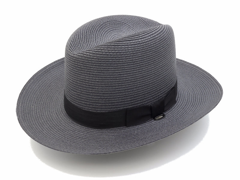 Stratton Sheriff Style Straw Hat Double Brim - red-diamond-uniform-police-supply