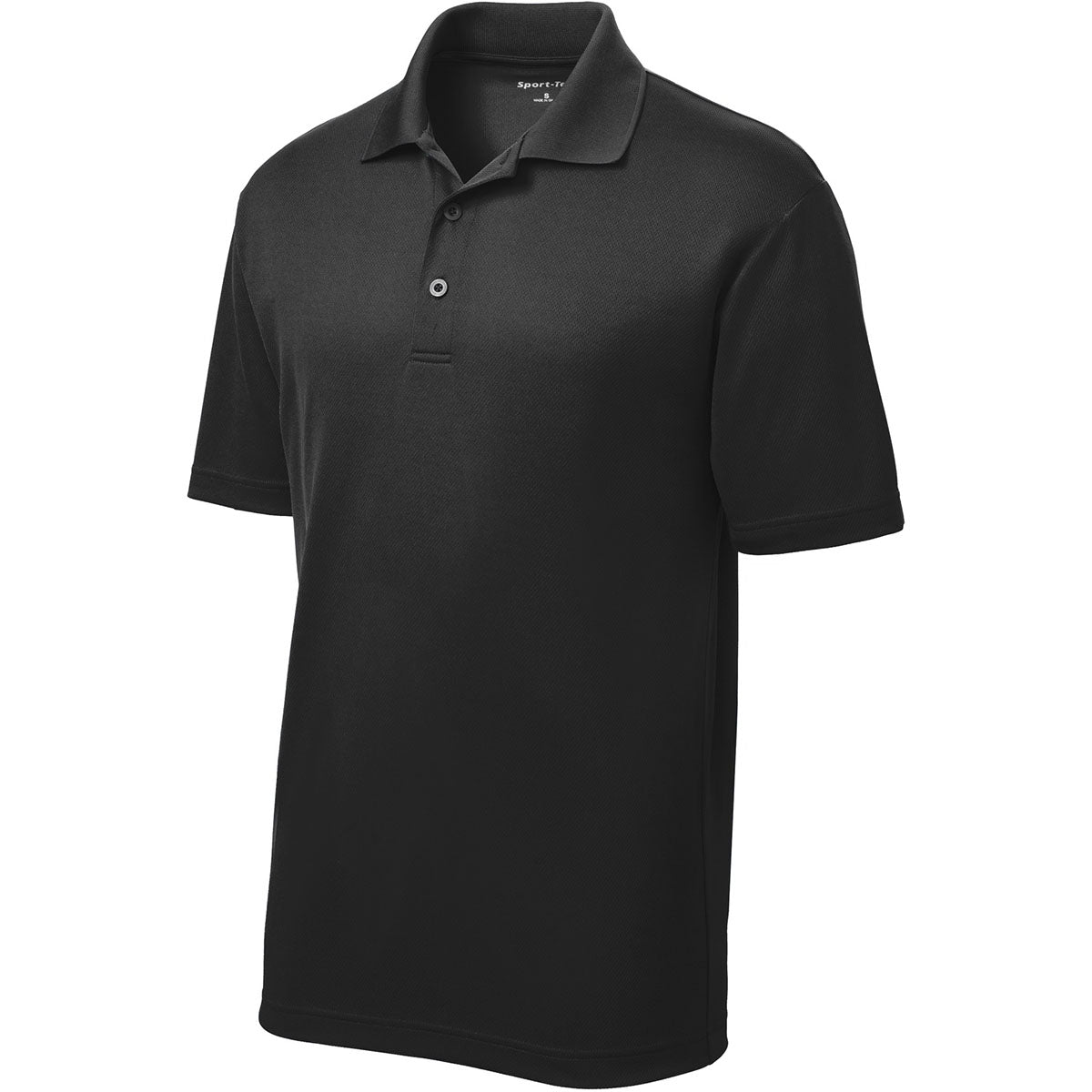 Sport-Tek ST640 PosiCharge RacerMesh Polo - Black