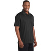 Sport-Tek ST640 PosiCharge RacerMesh Polo - Black - red-diamond-uniform-police-supply