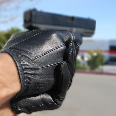 Tact Squad Leather Duty Glove  - TG120