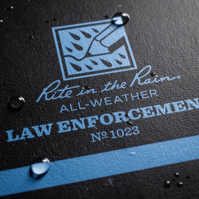 Rite In The Rain Thin Blue Line All-Weather Notebook - red-diamond-uniform-police-supply