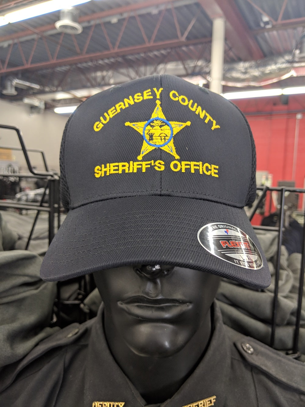 Guernsey County Sheriff Custom Ball Cap - red-diamond-uniform-police-supply