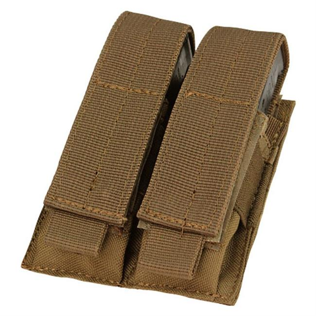 Condor Double Pistol Mag Pouch - red-diamond-uniform-police-supply