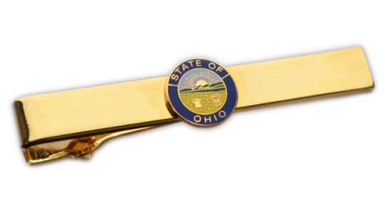 Premier Emblem Ohio State Seal Tie Bar - red-diamond-uniform-police-supply
