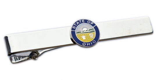 Premier Emblem Ohio State Seal Tie Bar
