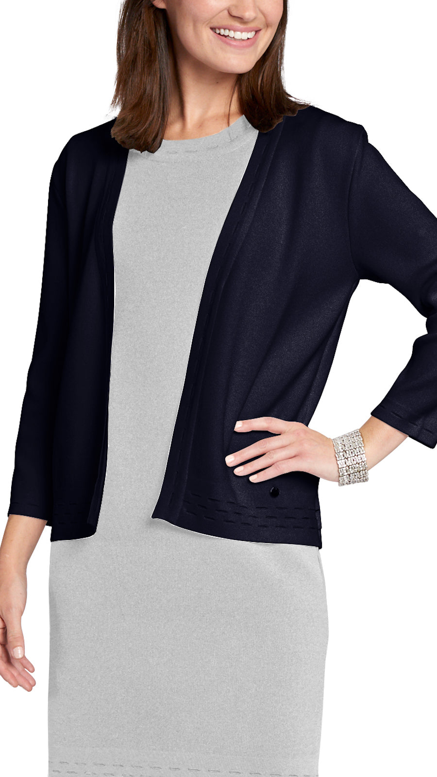 Adelyn Cardigan, Navy