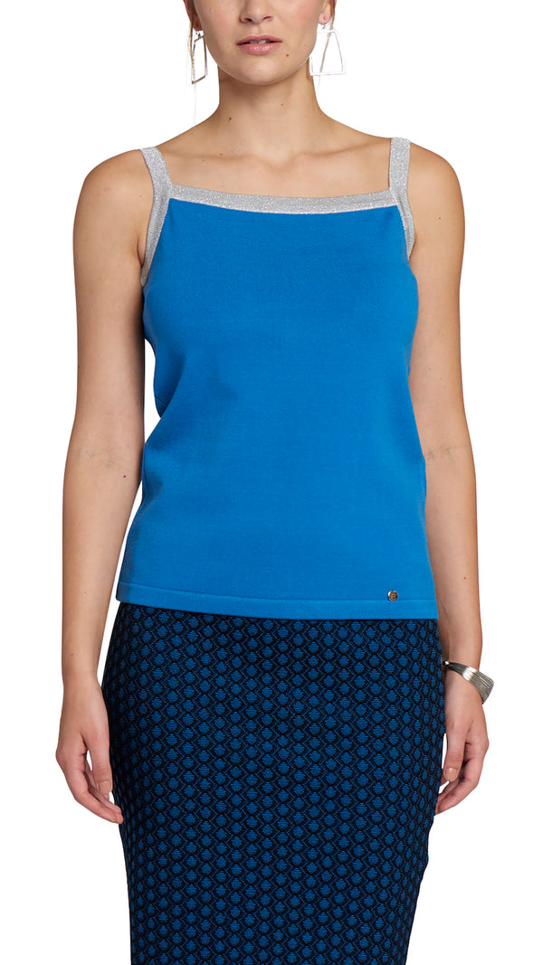 CONTEMPO Sylvie Knitted Tank Top
