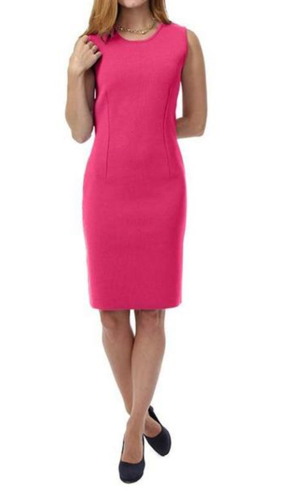 Susan Milano-Knit Dress, Pink