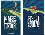 Bundle 2 - Insect & Buffalo plus  Hare & the Tortoise