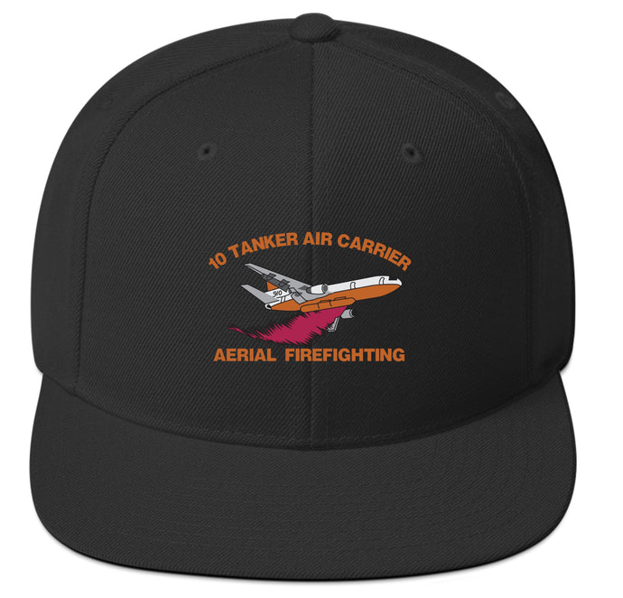 10 Tanker embroidered plane hat