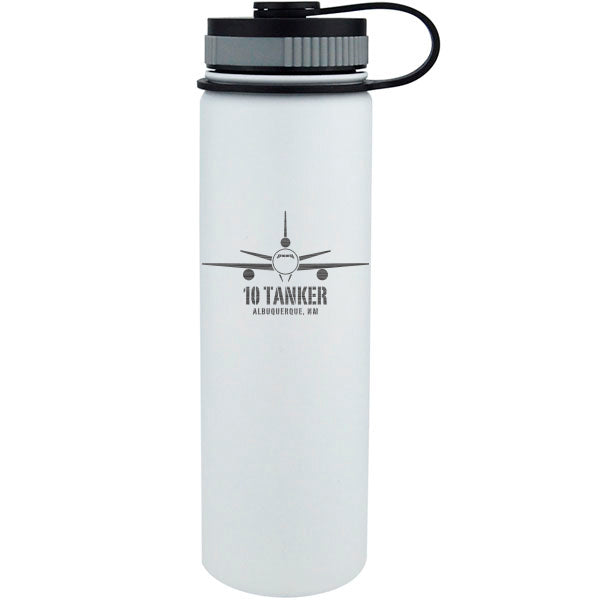 10 Tanker insulated  white bottle