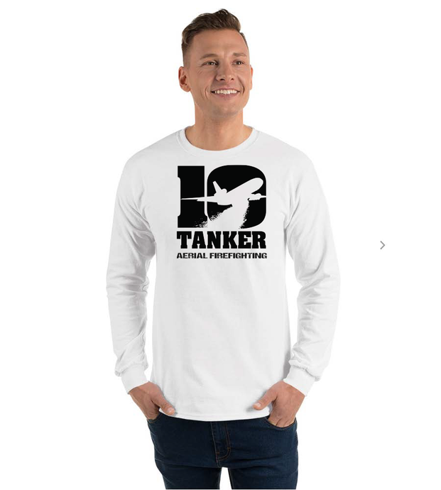 10 Tanker white long sleeve Alpha
