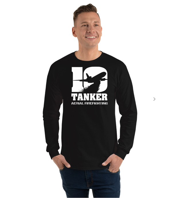10 Tanker Black long sleeve Alpha