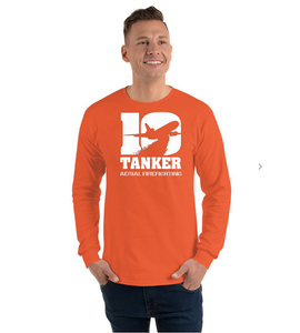 10 Tanker Orange long sleeve Alpha
