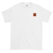 Load image into Gallery viewer, 10 Tanker White Shortsleeve with printed logo on left chest