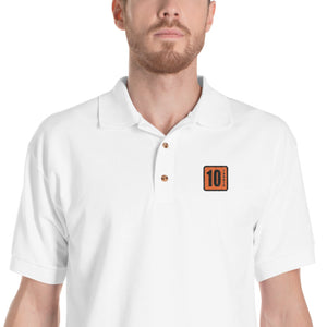 10 Tanker Polo with logo embroidered on left chest