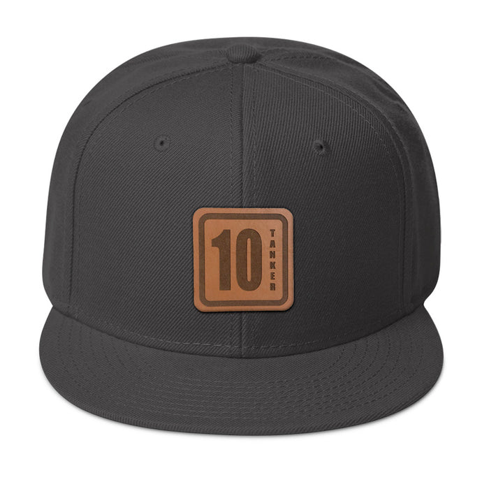 10 Tanker Leather Patch Hat