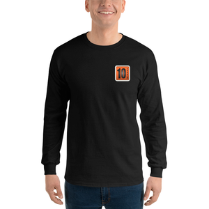10 Tanker logo black long sleeve