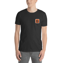Load image into Gallery viewer, 10 Tanker Black short sleeve with printed logo on left chest