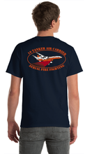Load image into Gallery viewer, 10 Tanker Signature Navy Blue Short Sleeve Shirt