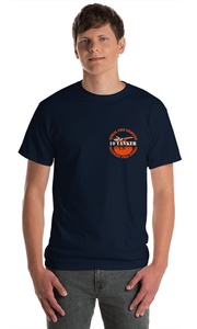 10 Tanker Signature Navy Blue Short Sleeve Shirt