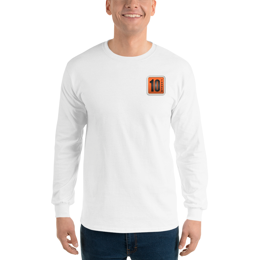 10 Tanker Logo White long sleeve