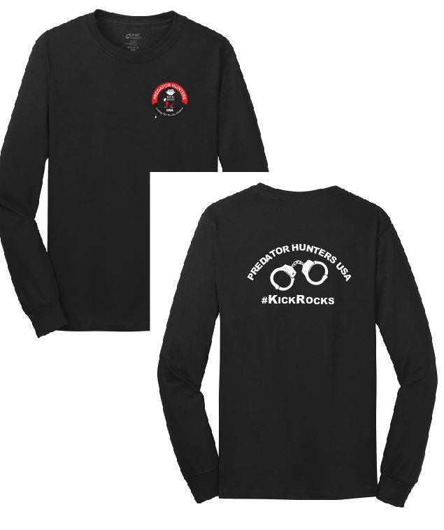 Long Sleeve Logo Black