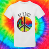 Be Kind Tee T-shirt Grow Through Clothing White Front Small Unisex