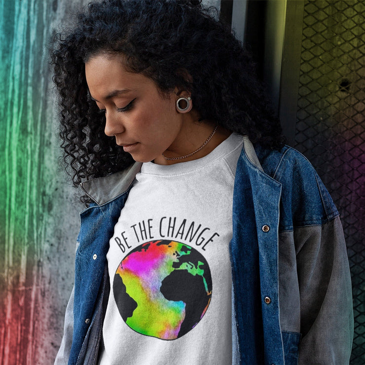Be The Change Tee T-shirt Grow Through Clothing