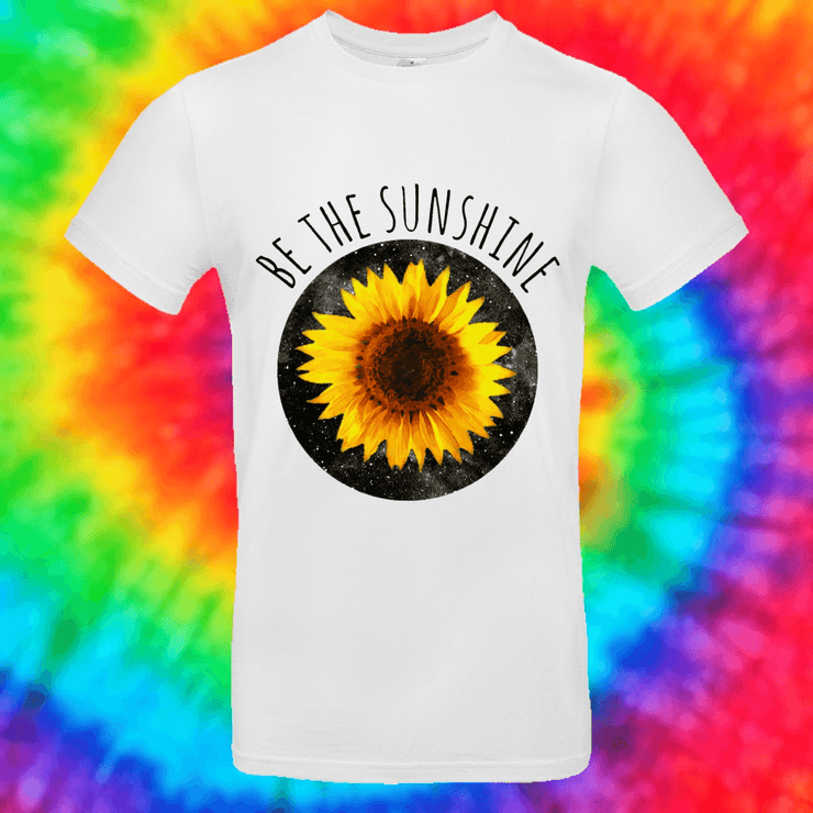 Be The Sunshine Tee T-shirt Grow Through Clothing White Front Small Unisex