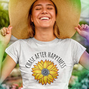Chase After Happiness Tee T-shirt Grow Through Clothing