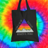 Climb To The Top Tote Bag Tote bag Grow Through Clothing Black