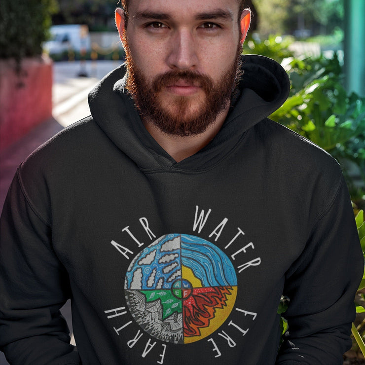 Four Elements Hoodie Hoodie Grow Through Clothing