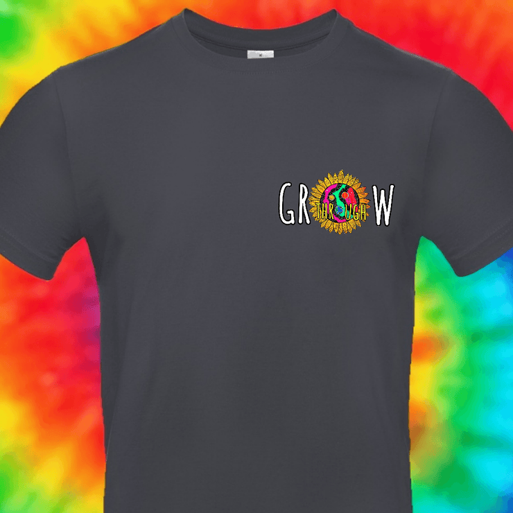 Grow Through What You Go Through Tee T-shirt Grow Through Clothing