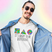 It's Okay To Be Different Tee T-shirt Grow Through Clothing